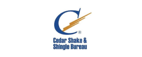 Cedar shake and shingle bureau logo