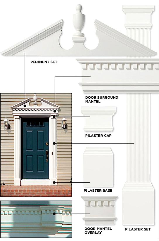 Exterior Door Pediment Door Pediment Houzz SaveEmail Pediments