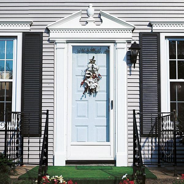 8 Designer Accent Door Surrounds For A Grand Entry Door & Exterior Renovation Theme: The Greek Revival Pezcame.Com