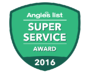Angies List SUperservice award