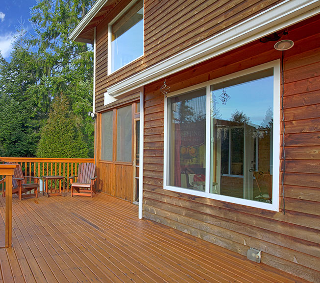 get a wood siding quote