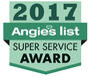 Angies List 2017 Super Service Award