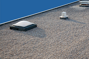 flat roof repair and replacement in fairfax