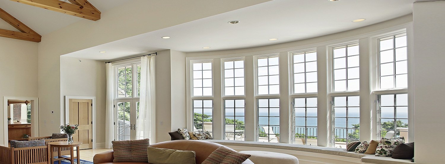 Northern virginia bay bow windows installation repair for Bow window installation