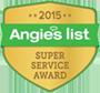 2015 Angies List Super Service Award Winner
