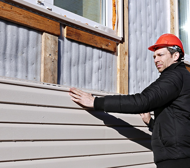 Siding repair and installation in Northern Virginia and Washington DC